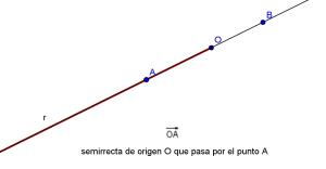 geo055 - semirrecta